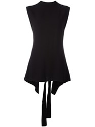 Marni Open Back Blouse Black