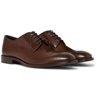 Paul Smith Chester Leather Derby Shoes Brown