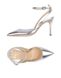 Icone Pumps Silver