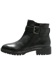 Geox Peaceful Ankle Boots Black