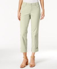 Style And Co Petite Curvy Fit Capri Jeans Only At Macy's Stonewall