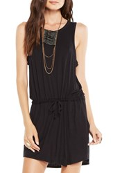 Women's Chaser Drape Back Stretch Jersey Dress Black