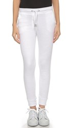 Zoe Karssen Slim Fit Sweatpants Optical White