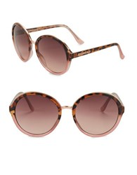 Vince Camuto 64Mm Pantos Sunglasses Brown