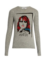 Bella Freud Anita Wool And Cashmere Blend Sweater Grey