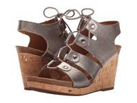 Sofft Carita Anthracite Women's Sandals Pewter