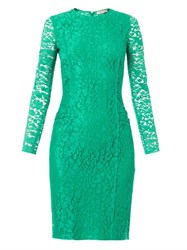 Nina Ricci Long Sleeved Lace Dress