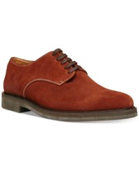 Donald J Pliner Men's Placido Plain Toe Oxfords Men's Shoes Rust