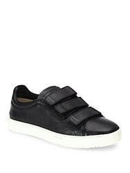 Rag And Bone Kent Leather Grip Tape Sneakers Black