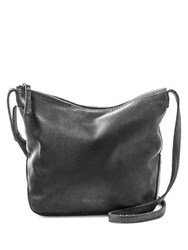 Aimee Kestenberg American Leather Dayton Crossbody Bag Black