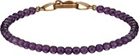 Suzanne Felsen Beaded Bracelet Purple