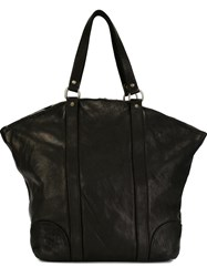 Guidi Full Grain Big Tote Black