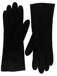 Christian Dior Vintage Classic Gloves Black