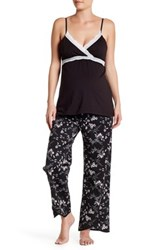 Belabumbum Reika Nursing Cami And Pant Set Maternity Multi