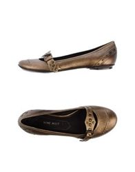 Nine West Ballet Flats Bronze