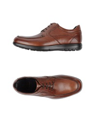 Fabi Lace Up Shoes Brown