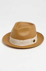Goorin Bros. 'Snare' Straw Fedora Natural