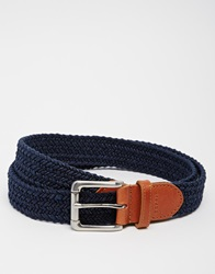 Esprit Braided Belt Blue