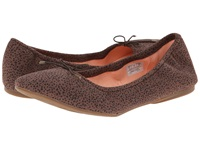 Sanuk Yoga Prima Brown Animal Dot Women's Flat Shoes