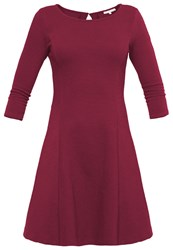 Mintandberry Jersey Dress Windsor Wine Dark Red