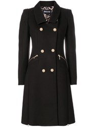 Just Cavalli Double Breasted Coat Brown