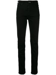 Mcq By Alexander Mcqueen Plain Skinny Jeans Black