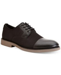 Calvin Klein Jeans Corbin Cap Toe Oxfords Men's Shoes Black
