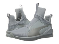 Puma Fierce Quilted Quarry Silver Women's Shoes Gray