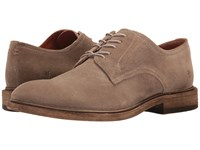 Frye Chris Oxford Grey Oiled Suede Men's Shoes Gray