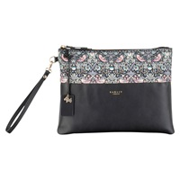 Radley Liberty Leather Clutch Bag Black