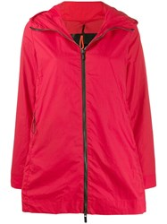 Rrd Hooded Parka Coat Red