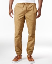 American Rag Men's Moto Jogger Pants Only At Macy's Dull Gold