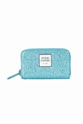 Opening Ceremony Glitter Coin Purse Turquoise