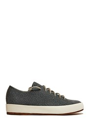 Feit Hand Sewn Low Leather Sneakers Blue