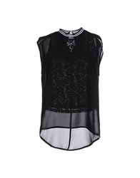 Noshua Topwear Tops Women Black