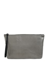 Alexander Mcqueen Skull Printed Coated Canvas Pouch