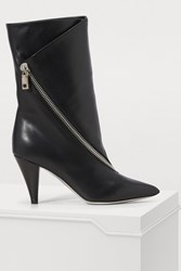 Givenchy Zippered Boots Black