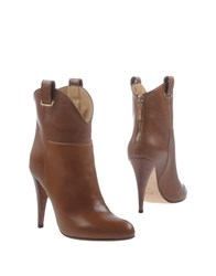 Mangano Ankle Boots Brown