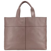 Kin By John Lewis Tyra Leather Tote Bag Taupe