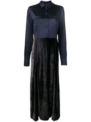 F.R.S For Restless Sleepers Fedra Long Dress Blue