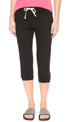 Sundry Capri Sweats Black