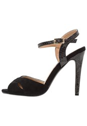 Refresh High Heeled Sandals Black