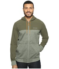Columbia Lost Lager Hoodie Cypress Peatmoss Valencia Men's Sweatshirt Green