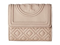 Tory Burch Fleming Mini Flap Wallet Bedrock Wallet Handbags Gray