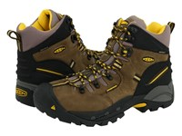 Keen Utility Pittsburgh Boot Slate Black Grey Work Boots Brown