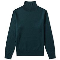 A.P.C. Dundee Roll Neck Knit Green