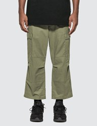 Sophnet. Cropped Wide Cargo Pants Brown