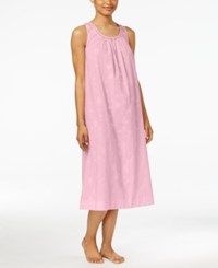 Charter Club Embroidered Nightgown Only At Macy's Pink Floral Embroidery