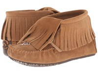 Manitobah Mukluks Paddle Suede Moccasin Vibram Oak Women's Boots Brown