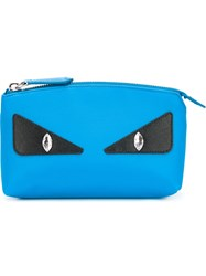 Fendi Bag Bugs Make Up Bag Blue